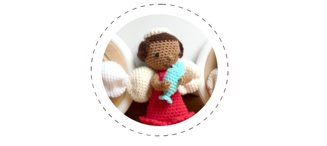 Crochet Angels: Michael, Raphael and Gabriel