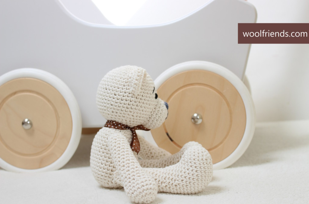 crochet teddy bear - site
