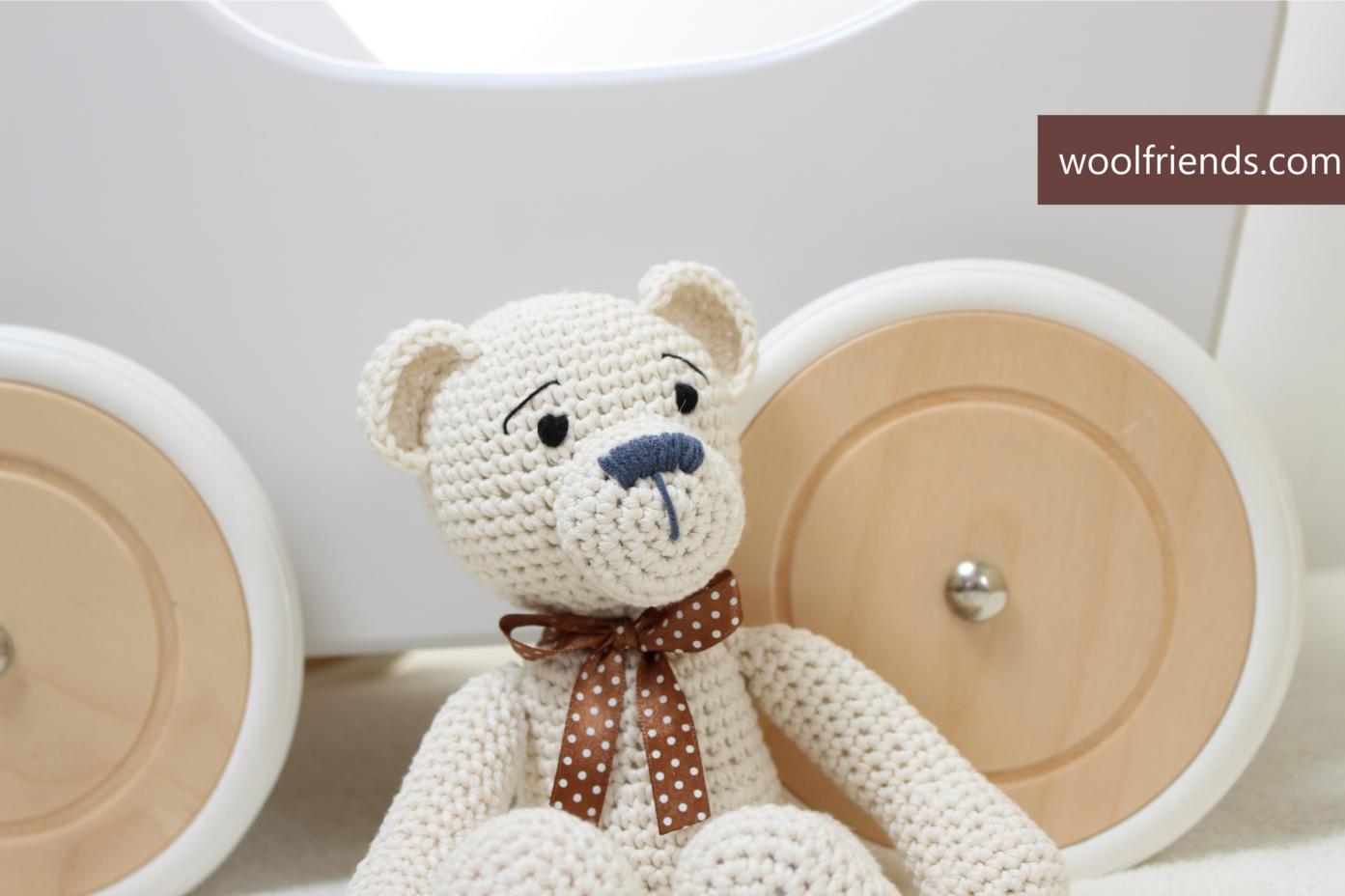 Crochet Teddy Bear Pattern • Kerri's Crochet   928x1393