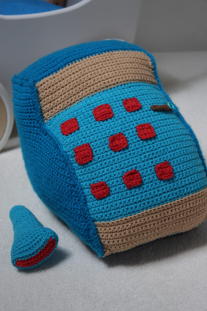 Crochet Cash Register – a gift for a 3 year old